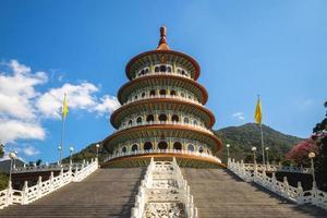 wuji tianyuan tempel i den nya staden Taipei, taiwan. foto