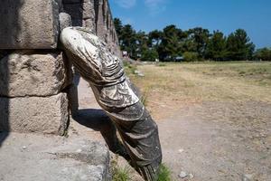 ruiner på Kos Island i Grekland foto