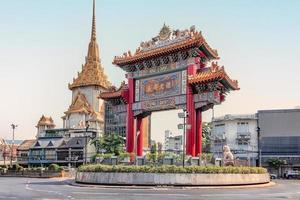 Chinatown District i Bangkok foto