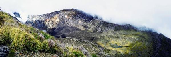 turrialba vulkan i Costa Rica foto
