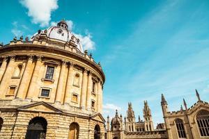 radcliffe kamera, bodleian bibliotek, Oxford University, Oxford, Oxfordshire, England, Storbritannien foto