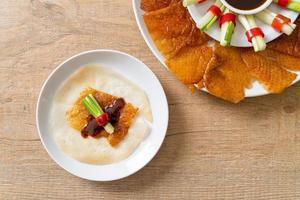 peking duck - kinesisk mat foto