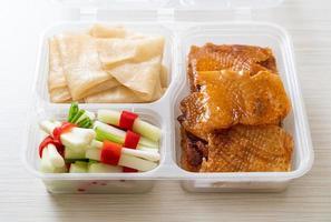 peking duck - kinesisk matstil foto
