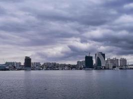 bukten i Sokcho City foto
