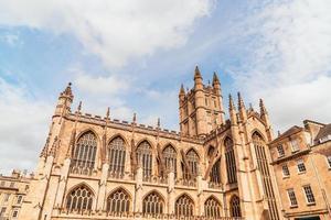klosterkyrkan Saint Peter och Saint Paul, Bath, allmänt känd som Bath Abbey, Somerset England foto