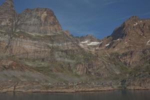 aappilattoq by i prins-christian-sund fjorden i södra Grönland foto