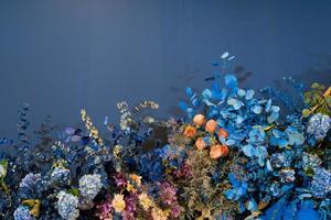 bröllop bakgrund bakgrund, blomma dekoration foto