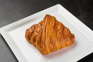 croissantbröd, konditorivaror, mat foto