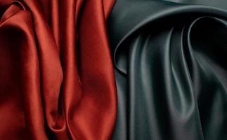 grön och brun tyg textur bakgrund foto