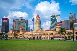 Sultan Abdul Samad-byggnaden vid Kuala Lumpur, Malaysia foto