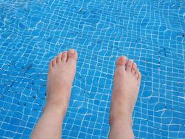 resa och vila turism på platser med pooler foto