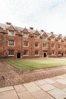 vacker arkitektur st. john's college i Cambridge foto