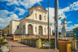 kyrkan av den heliga treenigheten på Kuba foto