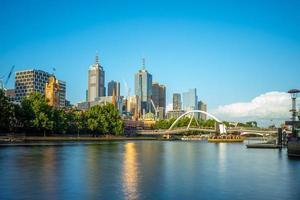 horisont av melbourne, victoria, australien foto