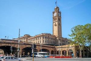 central järnvägsstation i sydney, australien foto