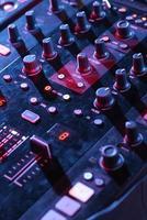 mixerpanel närbild foto