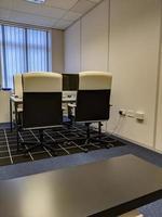 ett litet kontor foto