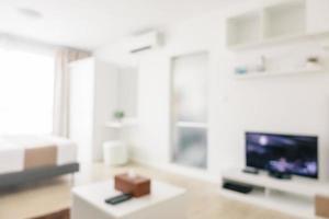 abstrakt oskärpa och oskärpa sovrum inredning och dekoration foto