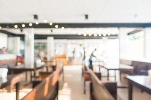 abstrakt oskärpa restauranginredning foto