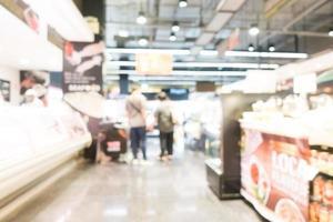 abstrakt oskärpa stormarknad foto