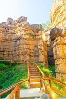 pha chor eller Grand Canyon Chiangmai i Mae Wang National Park Chiang Mai Thailand foto