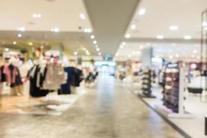 abstrakt suddighet och defokuserat köpcentrum foto