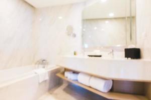abstrakt oskärpa badrum foto