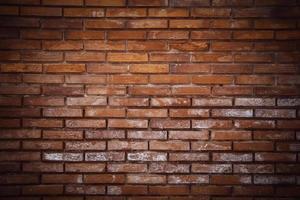 väggbakgrund med tegelstenar foto