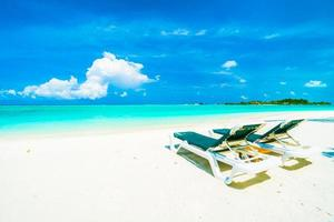 vackra ön Maldiverna foto