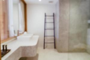 abstrakt oskärpa lyxigt badrum för bakgrund foto