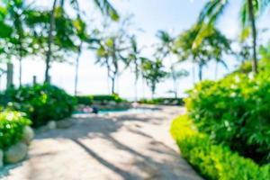abstrakt suddighet lyxhotellresort för bakgrund - semester och semesterbegrepp foto