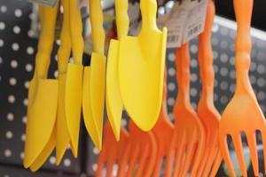 utrustning för trädgårdsarbete foto