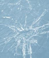 abstrakt bild av trasigt glas konsistens foto