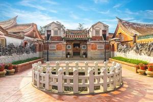 shanhou folkkulturby i kinmen, taiwan foto