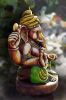 hinduisk gud ganesha. ganesha idol. foto