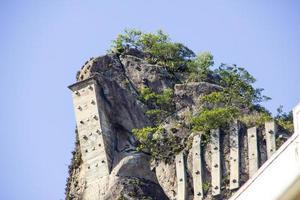 toppen av inhangas nål i copacabana foto