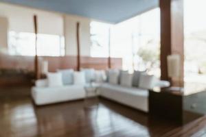 abstrakt oskärpa och defokuserad hotelllobby för bakgrund foto