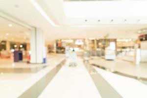 abstrakt oskärpa köpcentrum och detaljhandel för bakgrund foto