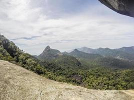 visa kite serrilha spår i Rio de Janeiro foto