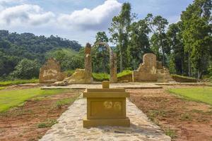 arkeologiska och miljömässiga parken Sao Joao Marcos Rio de Janeiro foto