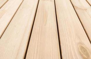 bakgrund av nya, rena träpaneler i perspektiv. foto