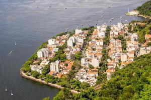 urca stadsdel i Rio de Janeiro foto