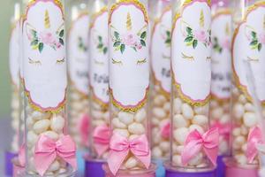 födelsedagsfest dekoration foto