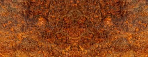 natur afzelia burl trä randig foto