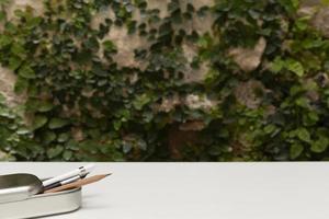 den minimalistiska hemdesigndesignen foto