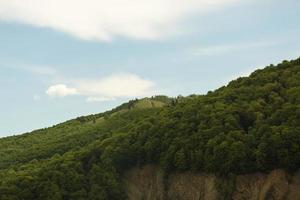 det fridfulla vackra landskapets dagsljus foto