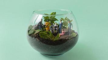 Stilleben hållbar livsstil element arrangemang foto
