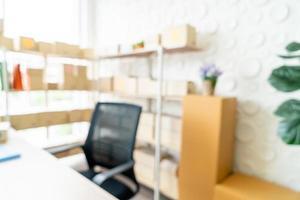 abstrakt arbetsutrymme hemma för bakgrund foto