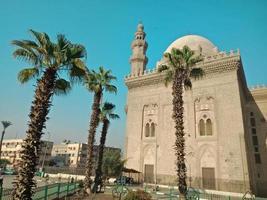 historisk byggnad i Hugharda stad, Egypten foto