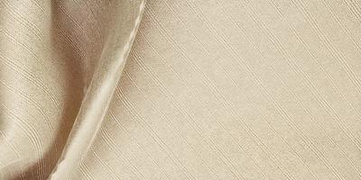 silke textur våg gardin organza tyg ljus beige 3d illustration foto